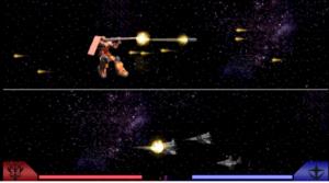 【PSP版】新ギレンの野望 戦闘シーン